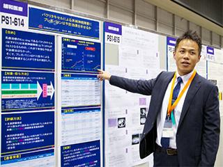 2012年-癌治療学会にて(横浜)